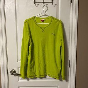 Men's puma long sleeve shirt